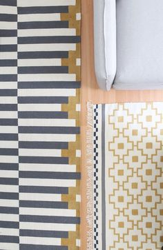 How to Paint a Rug to Make a Coordinated Set