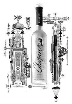 Chopin Vodka on Behance