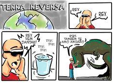 RABISCOS ENQUADRADOS: TERRA REVERSA 98: MELHOR AMIGO