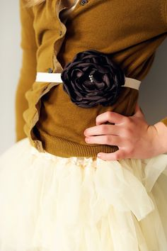 Peachy Keen Flower Belt ~ for them