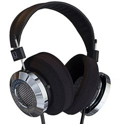 Grado Professional Series Dynamic Open Air Stereo Headphone *** You can get additional details at the image link. Open Back Headphones, Best Headphones, Over Ear Headphones, Audiophile Headphones, Stereo Headphones, Headset, Diy Amplifier, Hifi Audio, Gadgets