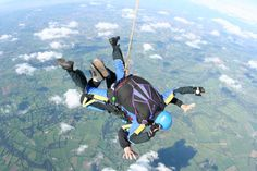 Laura in our sales team has decided to do a sky dive for charity - and she hates flying! Laura has funded this challenge herself, so all donations will go direct to the Essex & Herts Air Ambulance Trust. For more info, or to show your support for Laura and this life-saving charity, please visit https://mydonate.bt.com/fundraisers/laurathoroughgood1 #skydive #skydiving #essex #herts #airambulance #charity #fundraising #charityfundraising #premierpandp