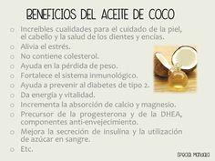 USOS Y BENEFICIOS DEL ACEITE DE COCO, ORGÁNICO, EXTRAVIRGEN, PRENSADO EN FRIO.