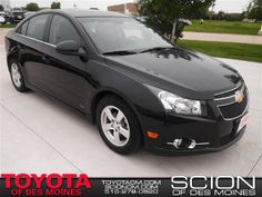 2012 Chevrolet Cruze 1LT at Toyota of Des Moines in Des Moines, IA