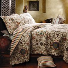 I pinned this Esprit Quilt Set from the Eastover Studios event at Joss and Main!