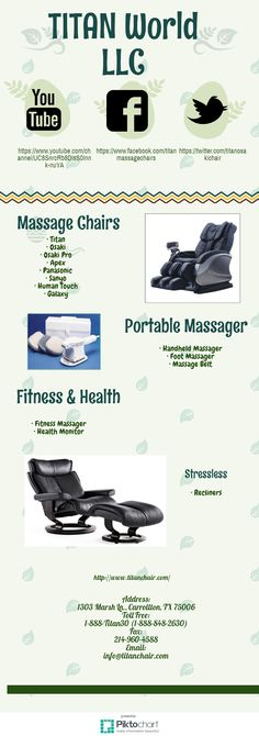 :- http://goo.gl/4ziyyp  #Back_Massager_Chair #Massage_Chairs #Panasonic_Chair_Massage #Recliners_Massage_Chairs #Titan_Massage_Chairs