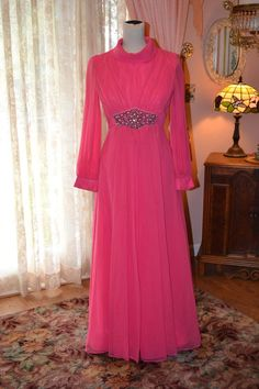 Vintage Evening Gown by KathrynsLegacy on Etsy, $55.00