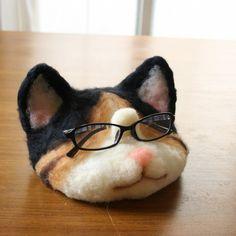 Eyeglasses Cats Tamari   Other Interior Miscellaneous Goods   Uesugi Komame   Handmade Mail Order Sales Creema