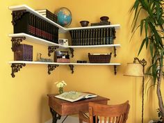 Decorate With Upcycled Wall Art, Shelves And Storage