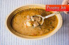 ZUPA GULASZOWA - pyszna, domowa, tradycyjna zupa. Taką zupa można nakarmić nawet głodnego mężczyznę :) Przy mniejszym głodzie zastępuje dwudaniowy obiad.