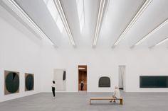 Herzog & de Meuron creates extension to MKM Museum Küppersmühle Arch Light, Museum Architecture, Extensions, Interior Design, The Originals, Gallery, Furniture, Oversized Mirror, Home Decor