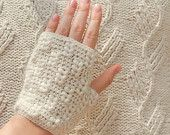 PDF CROCHET PATTERN Gloves Flower for the Wind by WhisperTwister