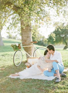 Photography: KT Merry Photography - ktmerry.com Read More: http://www.stylemepretty.com/2014/05/05/wildly-romantic-santa-barbara-engagement/