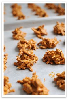 Butterscotch Haystacks Recipe ~ Here's an old-time favorite that my mom used to make every Christmas when I was younger, appropriately called Haystacks. A crunchy, sweet & nutty combination like this can't be beat. If you've never tried these, give them a go soon. Makes a whopping 50-60 haystacks.