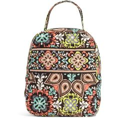 Vera Bradley Lunch Bunch Bag in Sierra ($34) ❤ liked on Polyvore featuring home, kitchen & dining, food storage containers, bags, accessories, lunch bags, sierra, vera bradley lunch sack, colored lunch bags and lunch bag