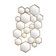 Lifestyle Divided Hexagon Mirror
