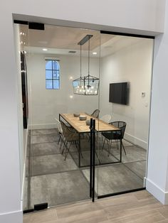 Florida State Glass and Mirror offers custom commercial mirrors that can beautify any office or store in Palm Beach. Glass, Commercial Mirror, Glass Office, Glass Office Partitions, Office Partition, Home Decor, Glass Mirror, Mirror, Glass Door