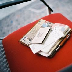 Airport 2 weeks ago with Traveler's Notebook, Voigtlander R4A AGFA 200 by Patrick Ng, via Flickr