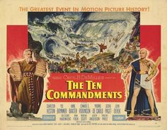 The Ten Commandments Movie Poster - Internet Movie Poster Awards Gallery