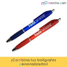 ¡Combina tus #bolígrafos personalizados como quieras! Usa el mismo marcaje en diferentes colores y crea tu propia colección.  www.merchaspain.com  #merchandisging #Mallorca #bolígrafospersonalizados #promotionalgifts #regalospersonalizados #pens