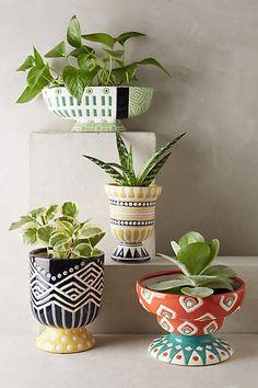 Anivalda Garden Pot - anthropologie.com