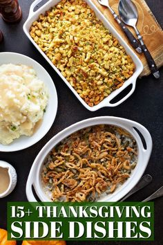 Everything from the cranberry sauce to the stuffing can be made at least a day ahead of time so you're not rushing trying to get everything ready - and the best part is, you can find some of the bet make-ahead Thanksgiving side dishes right here!