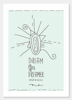 Items similar to Dream on Dreamer - - - art print and illustration by Sophia Georgopoulou on Etsy Dream On Dreamer, Daily Thoughts, The Dreamers, A4, Art Prints, Unique Jewelry, Handmade Gifts, Illustration, Etsy