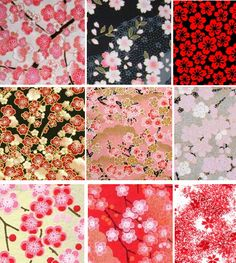 spring blossoms (patterned paper)