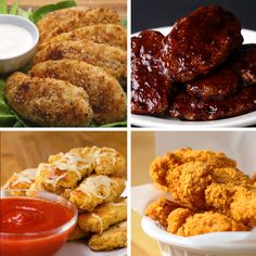 Recipes Snacks Videos Chicken Strips 4 Ways Tasty Videos, Food Videos, Tasty Chicken Videos, Appetizer Recipes, Dinner Recipes, Cooking Recipes, Healthy Recipes, Game Recipes, Snacks Recipes