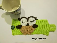 Dony's Creations by Donatella Saralli : Copri tazza _ pattern free italiano (use google translate)