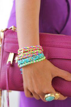 I want to make bracelets like this:)