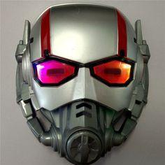Luminous Ant-Man Kids Boys Children Light Up Mask Helmet
