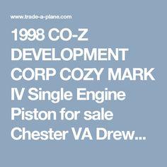 1998 CO-Z DEVELOPMENT CORP COZY MARK IV Single Engine Piston for sale Chester VA Drew/Andrew Swenson - 2181495
