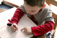promoting literacy: journaling for littles