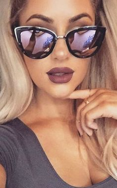 My Girl Sunglasses in Black Tort with Pink Lense | photo provided by @quayaustralia via Instagram | As seen on Chrisspy