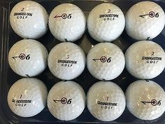 3 DOZEN BRIDGESTONE E6 MINT CONDITION GOLF BALLS AAAAA