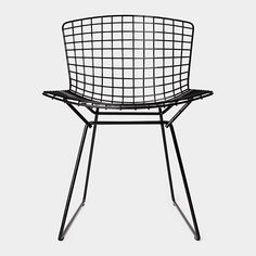 Bertoia Side Chair, 1952 by Harry Bertoi #Chair #Harry_Bertoia