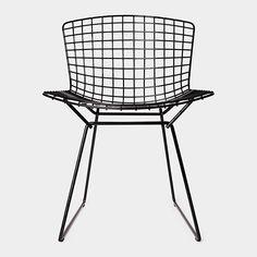 Bertoia Side Chair, 1952 by Harry Bertoia.#Chair #Harry_Bertoia MoMA