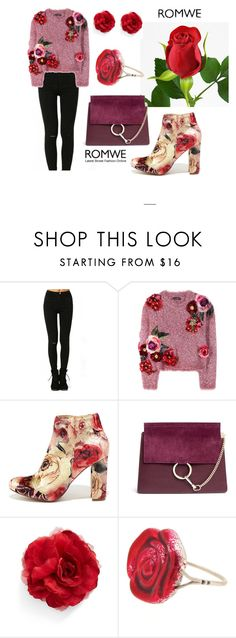 """Untitled #221"" by delmode ❤ liked on Polyvore featuring Dolce&Gabbana, Liliana, Chloé, Cara and Sian Bostwick Jewellery"