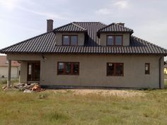 Elewacja boczna projektu  #elewacja #dom # projekt