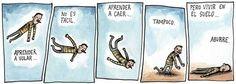 Liniers: ese gran  humorista argentino con el boligrafo lleno de verdad...