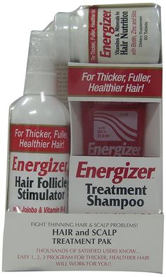 Hobe Labs Energizer Hair and Scalp Treatment Pak, 3-Count *** Check this awesome product by going to the link at the image.
