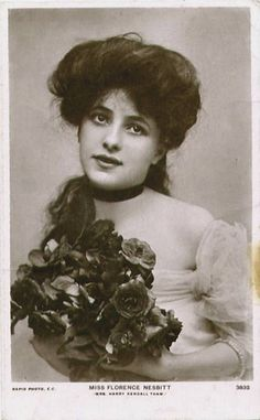 Miss Florence Nesbitt  by Chickeyonthego, via Flickr