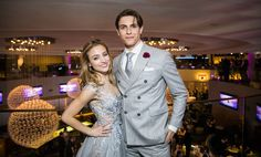 Christy Altomare and Derek Klena at the party celebrating the opening night of Anastasia on Broadway- April 24th, 2017