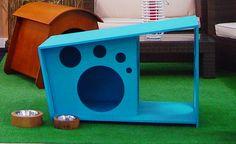 Casita Colors con porche, porque tu perro también quiere una terraza! www.nuukhome.com