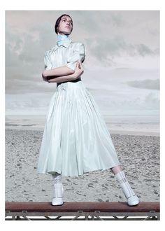 Editorial Máquina do Tempo - Harper's Bazaar Abril  2015