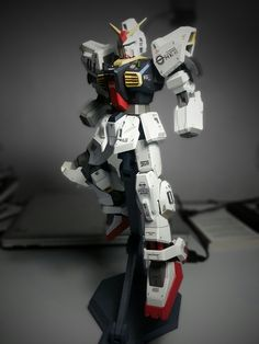 Mi Gundam MKII, modelo de papel!!!!!
