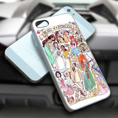 Heart of a Princess Disney iPhone case, iPhone 4/4s/5/5s/5c case cover, Samsung Galaxy S3/S4 case cover, iPod 4/5 case cover on Etsy, $14.99