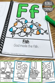 Read and Color Alphabet Book