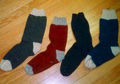 Atlantic Guard Soldiers' Aid Society sock pattern 1860s Wool Socks, Knit Mittens, Knitting Socks, Knitting Stitches, Hand Knitting, Knitting Patterns, Kids Knitting, Knitting Videos, Knitting Projects